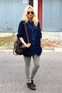 Ebay-boots-h-m-jeans-vintage-shirt-asos-bag-vintage-cardigan