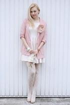 H&M blazer - Primark shoes - H&M dress - Bepon tights