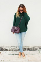 asos sweater - Mango shoes - Zara jeans - Primark bag