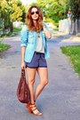 Zara-shoes-zara-shirt-h-m-bag-gate-shorts-primark-t-shirt