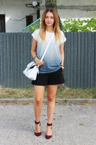 Gate top - Zara shoes - asos bag - H&M shorts
