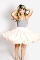 vintage skirt - American Apparel top