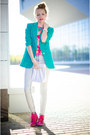 Aquamarine-my-design-blazer-hot-pink-inkkas-sneakers