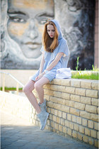 silver nowIStyle dress - silver next sneakers