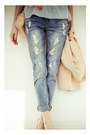 Sky-blue-befree-jeans-nude-chicwish-blazer-nude-love-republic-bag