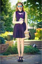 orange wwwsheinsidecom necklace - deep purple my design dress