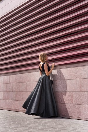 black Isabel Garsiait dress