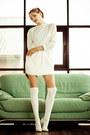 Ivory-oasap-skirt