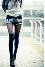 Black-sheinside-shorts-ivory-sheinside-swimwear-black-persunmall-bracelet