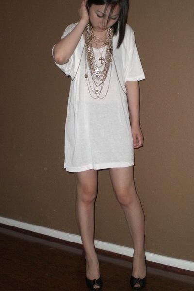 biker Target shorts - Steve Madden shoes - sexuali-tee American Apparel shirt