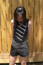 Target vest - The Row top - Topshop shorts - Erica Anenberg and Tiffanys - forev