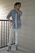 Levis shirt - Twenty8Twelve - Hydraulic jeans - Marni shoes