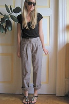 H&M shirt - monoprix pants - Zara shoes