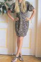 Topshop dress - Zara shoes