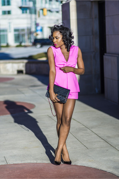 Mustard Seed romper - Christian Louboutin shoes