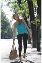 Zara pants - Zara bag - Zara top - Mango heels