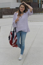 Converse sneakers - hollister jeans - free people sweater - hakei scarf