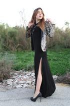 Zara dress - Zara jacket - Zara heels