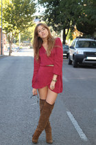 Love dress - Zara boots