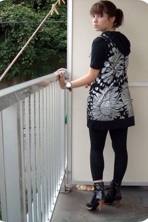 Hanjiro top - Forever21 dress - Forever21 accessories - Rakuten shoes