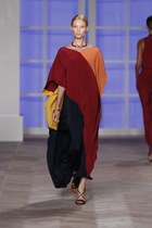 Color Block Caftan