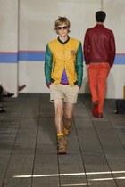 """Yellow/Green """"Varsity""""Jacket"""