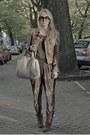 Bronze-zara-jacket-periwinkle-alexander-wang-bag