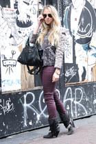 gray jordan Isabel Marant jacket - dark gray dana Isabel Marant boots
