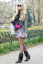 charcoal gray dana Isabel Marant boots