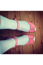 Topshop socks - Swedish Hasbeens clogs