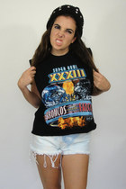 Vintage Super Bowl Cropped Muscle Tee