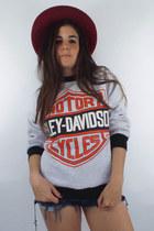 Vintage 90s Harley-Davidson Logo Sweatshirt