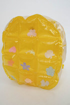 Vintage 90s Super Kawaii Pastel Inflatable Mini Backpack - Yellow