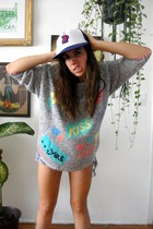 vintage hat - lovefool vintage sweater