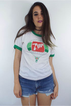 Vintage 7-Up Hot Air Balloon Ringer Tee