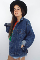 Vintage 90's Dark Wash Levi's Denim Jacket