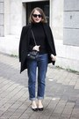 Black-the-kooples-coat-blue-mih-jeans-jeans-black-petit-bateau-sweater
