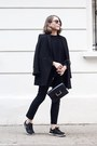 Black-the-kooples-coat-black-saint-laurent-bag-black-ray-ban-sunglasses