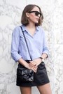 Periwinkle-the-kooples-shirt-black-reed-krakoff-bag-black-ray-ban-sunglasses
