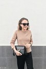 Black-claudie-pierlot-coat-neutral-equipment-sweater-black-saint-laurent-bag
