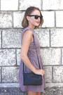 Pink-paul-joe-sister-dress-navy-celine-bag-black-ray-ban-sunglasses