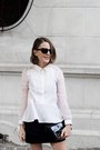 White-the-kooples-shirt-black-reed-krakoff-bag-black-marc-jacobs-sunglasses