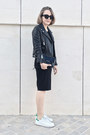 Black-gap-dress-black-the-kooples-jacket-black-reed-krakoff-bag
