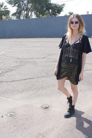 doc martens boots - Shakuhachi shirt - Miu Miu sunglasses - Isabel Marant skirt