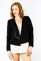black Trashy Vintage blazer