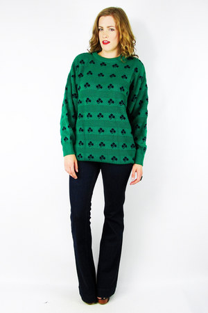 green Trashy Vintage sweater