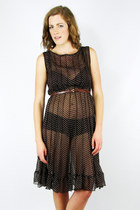 Dark-brown-trashy-vintage-dress