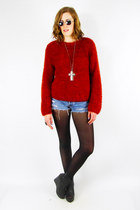 ruby red Trashy Vintage sweater