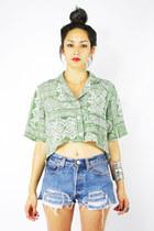 aquamarine Trashy Vintage shirt