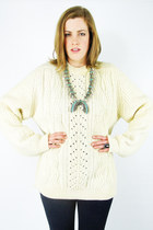 ivory Trashy Vintage sweater